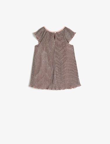 Koton Kids Sim Detayli Elbise Pembe
